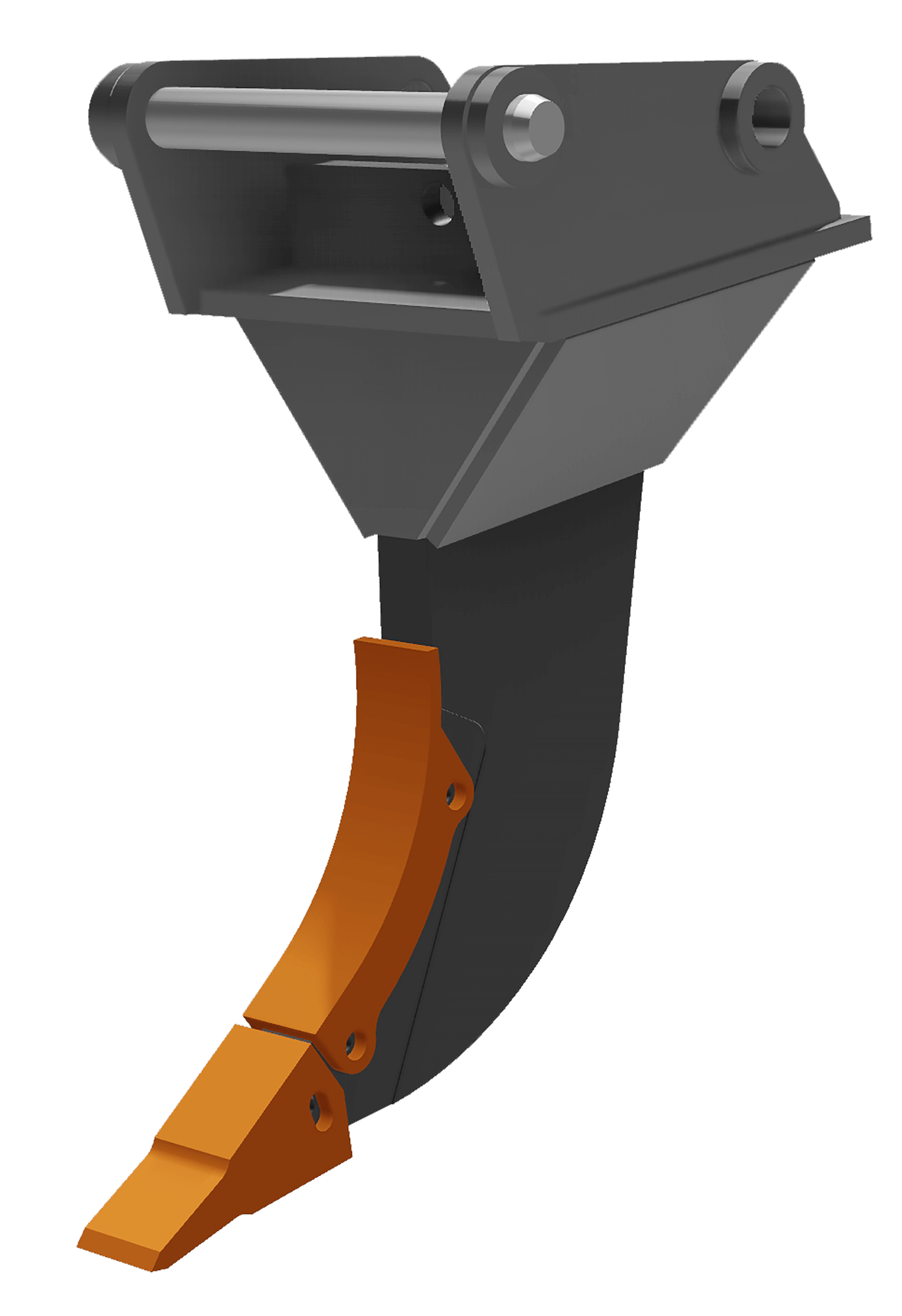 Referenz: Reißzahn R45 (bis 45t) mit Schenkelschutz
