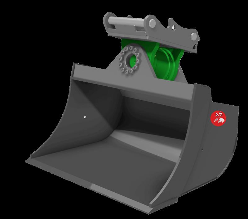Referenz: Schwenktieflöffel mit Motor K5-7S